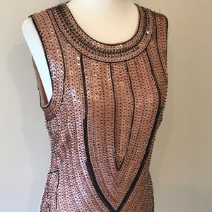 Bebe Sequin Dress - Size 6